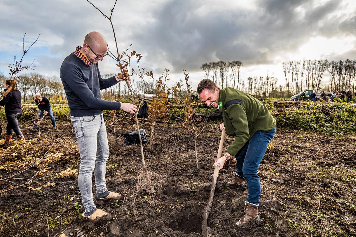 Bomen planten 29 november - Trees for All (29)